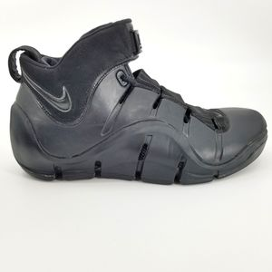 Nike Zoom  Lebron IV 4 Black Anthracite Shoes